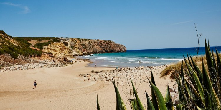 Zavial Beach, Algarve
