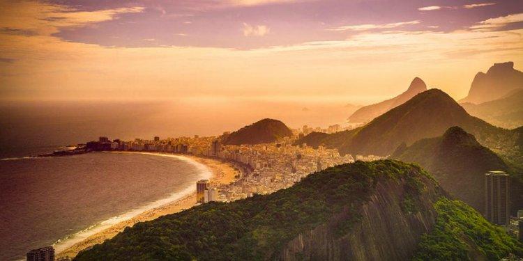 Copacabana beach, rio de