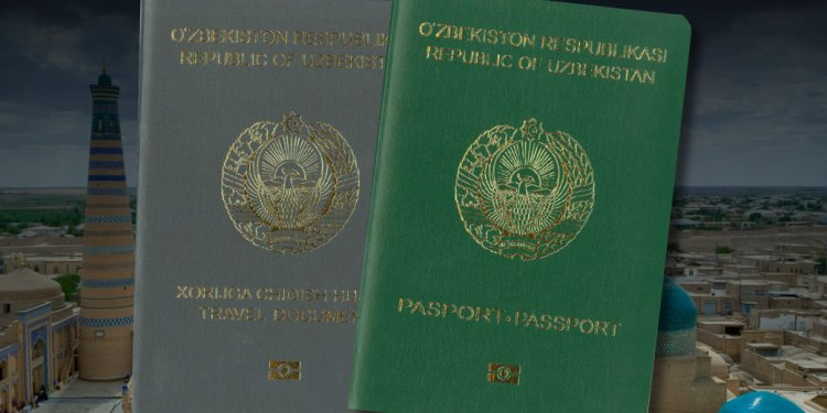 Uzbek passport