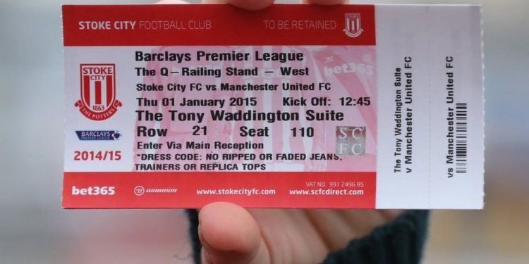 A Premier League ticket