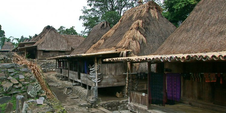 Indonesia - Flores - Traditional Village Bena - 66